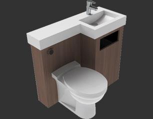Toilet-Combi-Unit