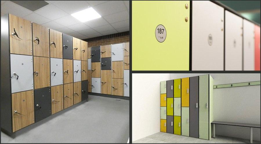SGL Changing Room Lockers