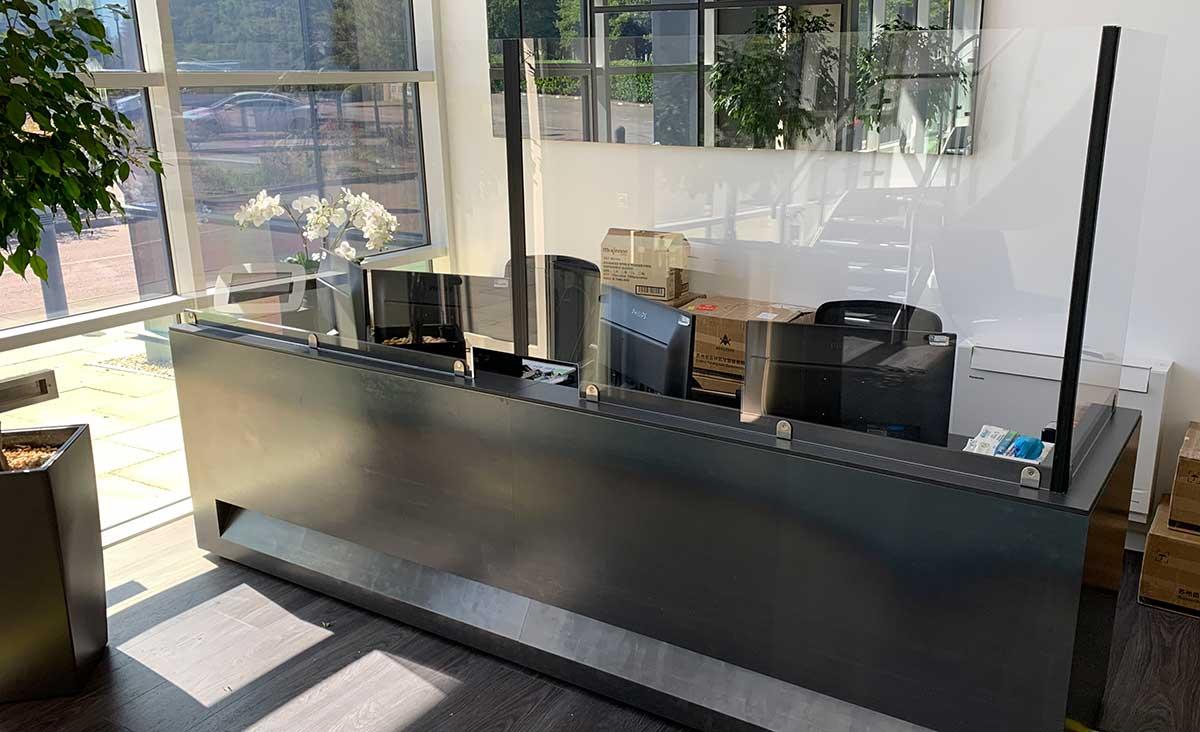 Bespoke Reception Windows UK