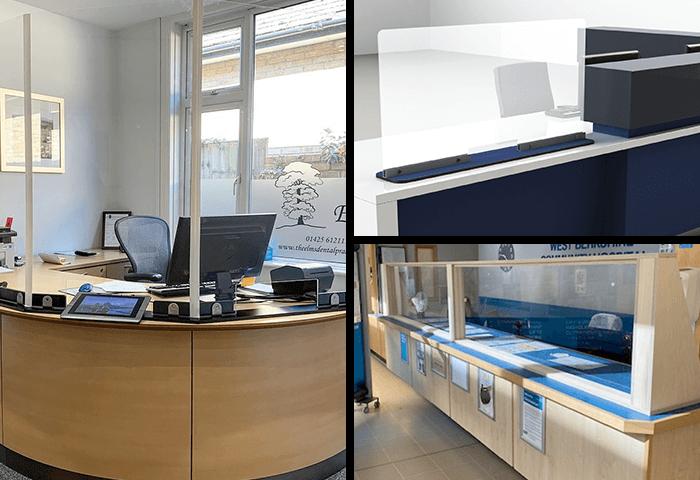 Perspex Reception Screens Manufacturer
