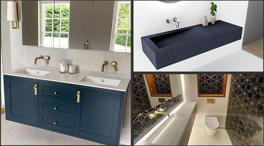 Bespoke Sinks and Corian Wash Basins UK