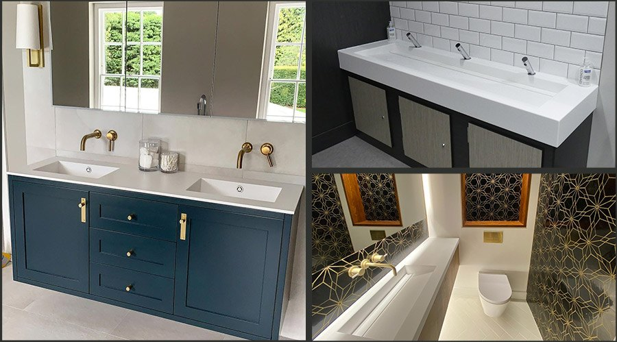 Corian Vanity Units Made-To-Measure