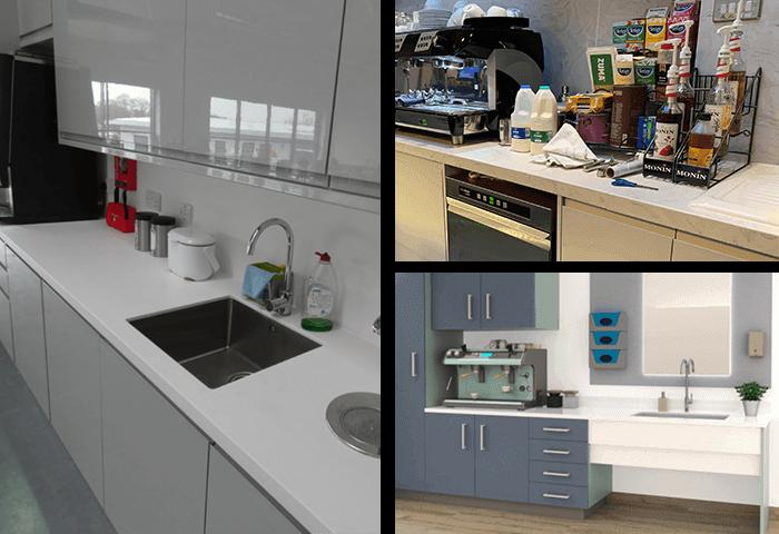 Corian Commercial Kitchen Worktops UK