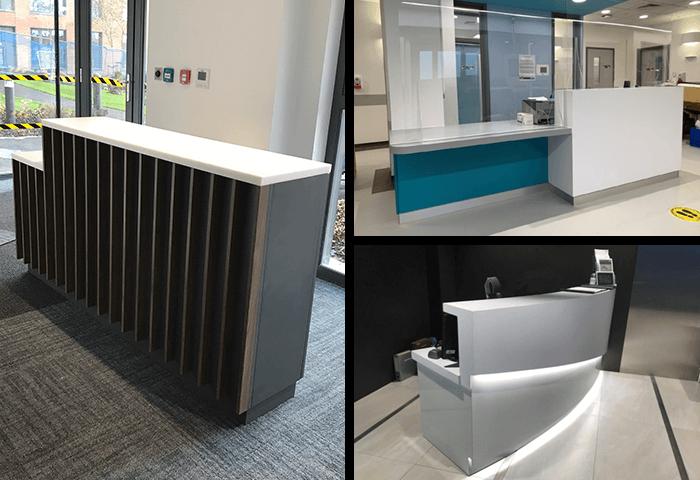 Build Your Own Reception Desk