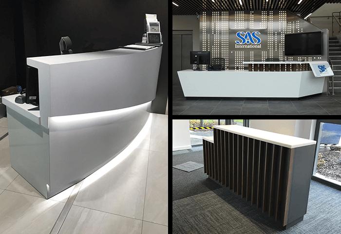 Office Reception Desk UK made