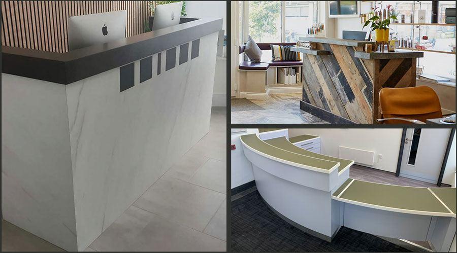 Office Reception Desks Bespoke UK